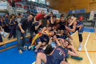 El desempate se marcha a tierras catalanas. Lluvia de triples de Cuevas y Signes para repetir título cadete