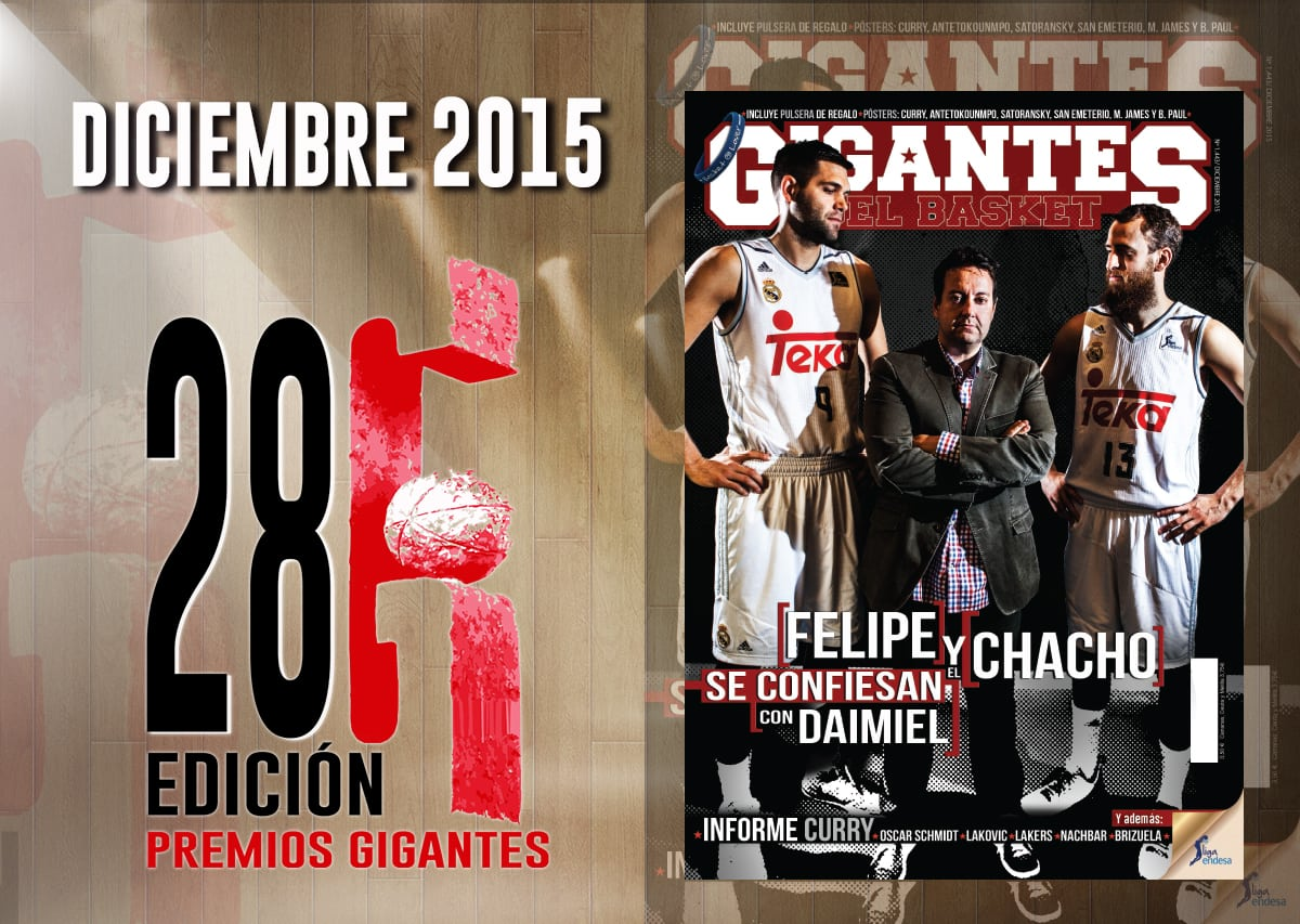 Así hicimos el número de diciembre: El Chacho y Felipe con Daimiel