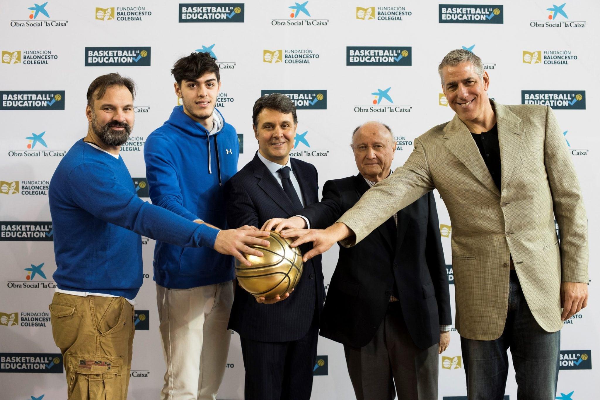 """Presentación de 'Basketball is Education"""", la nueva Copa Colegial"""