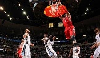 Memphis sufre un nuevo apagón: los Rockets se llevan la victoria con un 8-24 final (Vídeo)