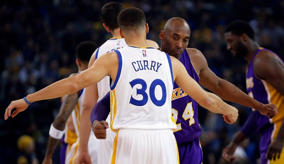 Despedida de Kobe de Oakland con mensaje de Jerry West. Curry toma su relevo (Vídeo)