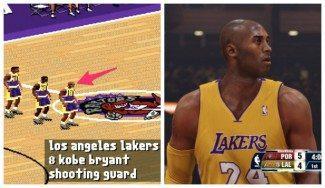La carrera de Kobe, a través de videojuegos: la evolución de la NBA en los últimos 20 años