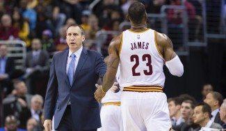 Pese a su historia juntos, David Blatt también se rinde ante LeBron James