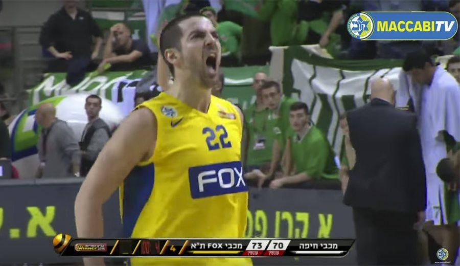 Rochestie salva al Maccabi: triplazo ganador para meterle en semis de Copa (Vídeo)