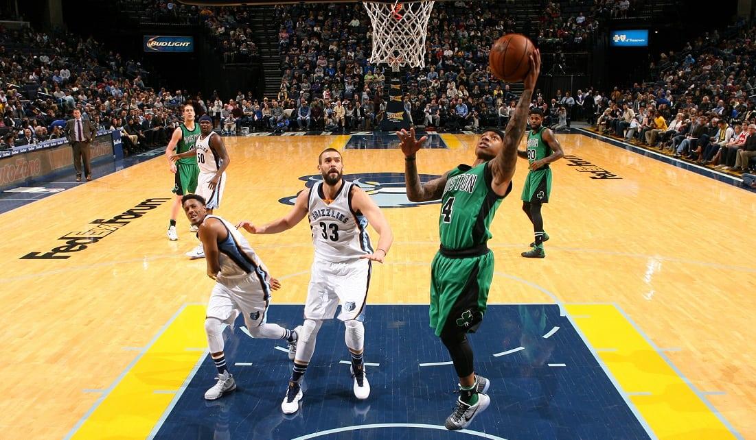 Los Grizzlies remontan 21 puntos a los Celtics. Isaiah Thomas (35), héroe sin premio (Vídeo)