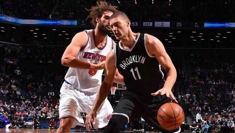 Los Knicks acusan la baja de Melo en Brooklyn. Primer triunfo de los Nets sin Hollins (Vídeo)