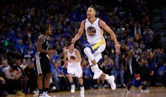A Curry se le quedan cortos hasta los Spurs. Nueva exhibición para ganar… ¡por 30!