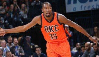Los Thunder jugarán contra Madrid y Barça en octubre. ¿Con el agente libre Durant?