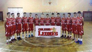 Un equipo feroz. El colegio leonés, a la final de la Copa Castilla y León infantil