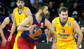 Navarro se viste de gala para la visita del Khimki y el Barça resuelve en media parte