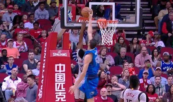 Tras Durant y Westbrook…¡Harden! La Barba, última víctima de Mejri. Y doble-doble (Vídeo)