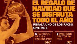 ¡Regala Baloncesto! Atractivas ofertas de los Reyes Magos de los equipos ACB