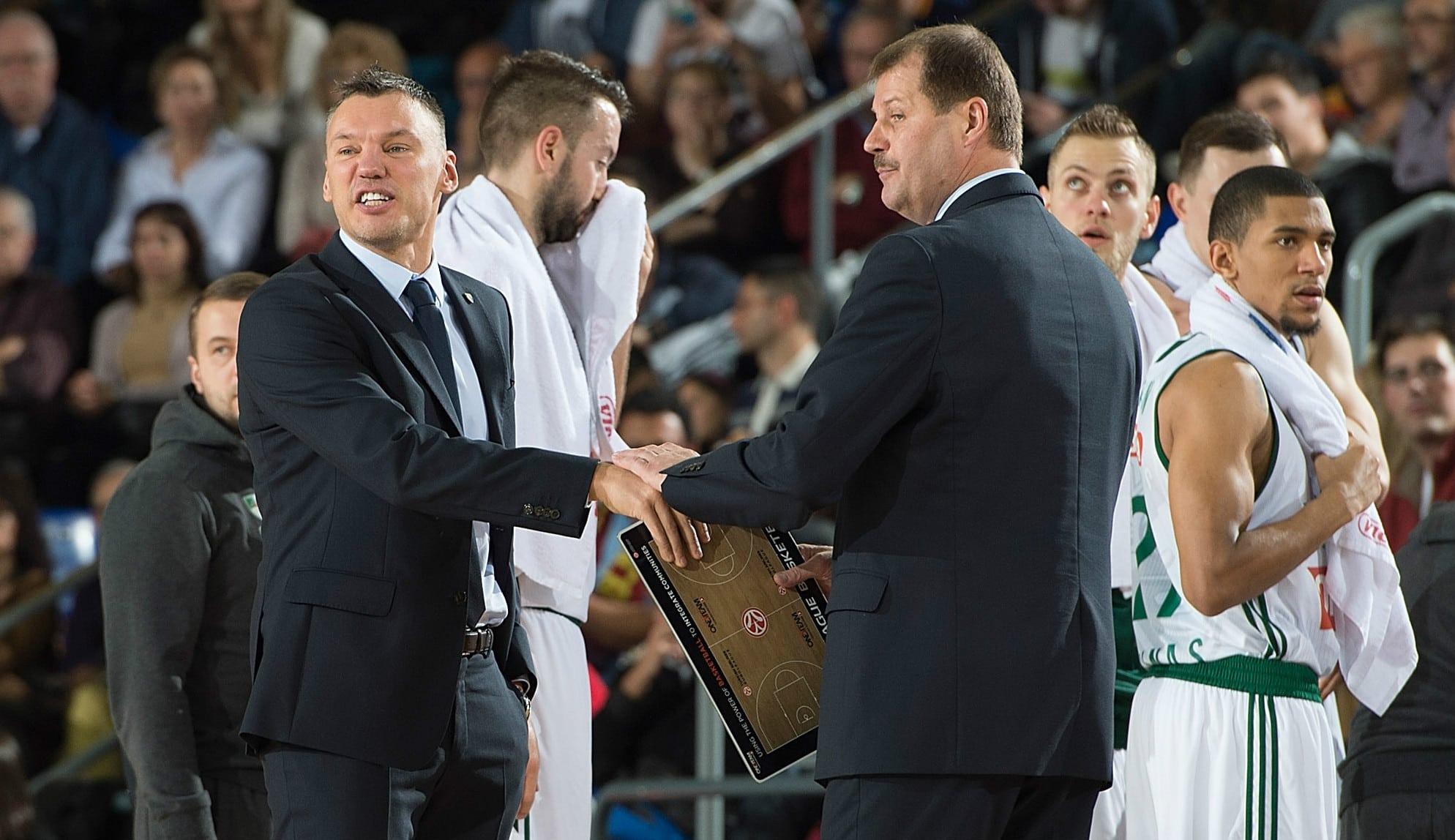 Jasikevicius toma el mando: entrenador interino del Zalgiris tras la salida de Krapikas