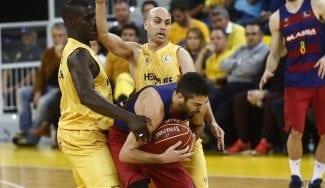 El Barça se sale ante el Granca con Navarro de récord. Ojo al 3 en 1 de Oleson (Vídeo)