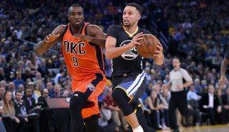 El mago Curry minimiza los 40 puntos de Durant en el inabordable Oracle Arena (Vídeo)