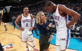 ¿Tiempo muerto? Para qué si tienes a Durant. Triplazo para tumbar a Orlando (Vídeo)