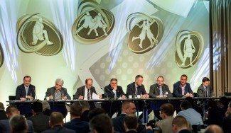 Tres equipos ACB en la futura competición FIBA. Bilbao, Valencia y Unicaja, en la reunión