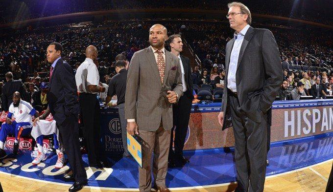 Los Knicks despiden a Derek Fisher. Kurt Rambis toma el relevo de forma interina
