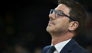 """Katsikaris, sobre Faverani: """"Tiene calidad pero le falta mucho para ser nuestro referente"""""""