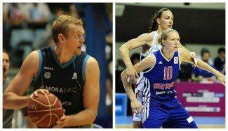 Daniel en Andorra, y Ella en Gernika. Los hermanos Clark, pasión por el baloncesto