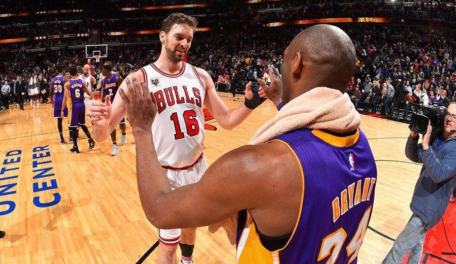 """Kobe Bryant: """"No reconocía al Pau Gasol de San Antonio"""""""