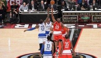 Tributo máximo a Kobe Bryant y su hija en los dorsales del All-Star Game