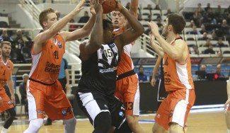 Más difícil para el Valencia: el PAOK, sin Vasileiadis ni Sofo para 'ayudarle ' en Limoges