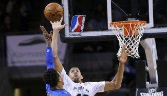 Walter Tavares hace méritos: 17+14 con los Austin Spurs de la D-League (Vídeo)