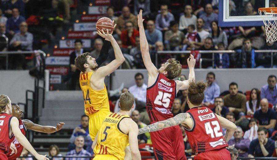 El Barça aprovecha: gana al CAI y es líder de la ACB. 5 jugadores en dobles dígitos en puntos