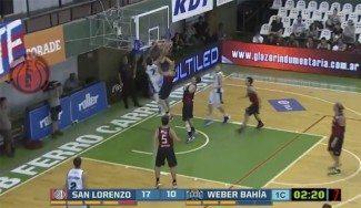 Que tomen nota los Nets: matazo de Vaulet en la cara del ex ACB Marcos Mata (Vídeo)