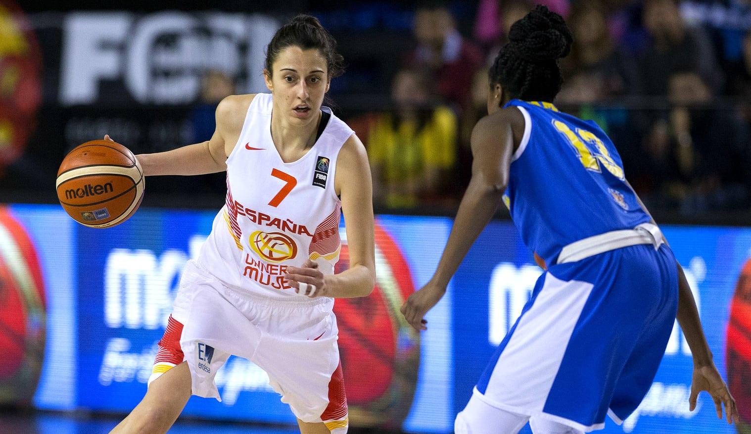 La Selección Femenina, al Eurobasket por la puerta grande: España gana a Suecia por 48