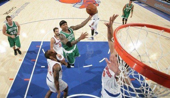 Los Celtics toman el Madison de unos Knicks a la deriva. Porzingis, gris (Vídeo)