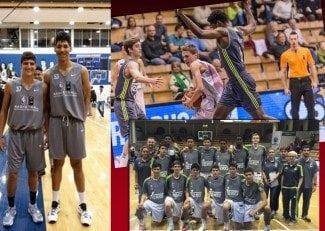 Fin de semana 'blanco': Dos Anjos, en el Basketball Without Borders; el cadete, campeón en Hungría
