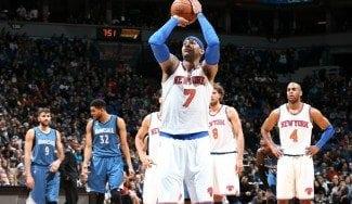 Ricky reparte mucho juego pero ganan los Knicks y Melo entra en un histórico club (V)