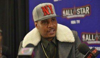"""Que no sea por pedir. Carmelo, a Phil Jackson: """"Quiero jugar con otra estrella de la liga"""""""