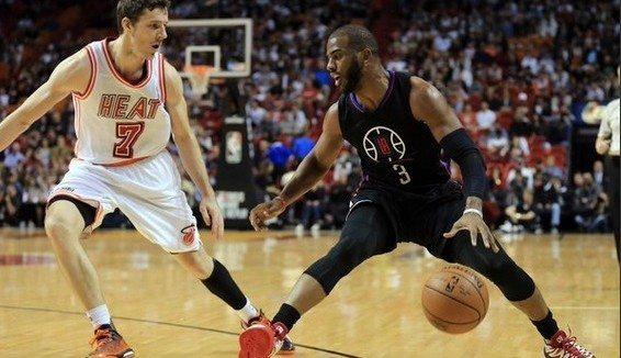 Chris Paul se carga a los Heat y le regala un monstruoso alley-oop a Jordan (Vídeo)