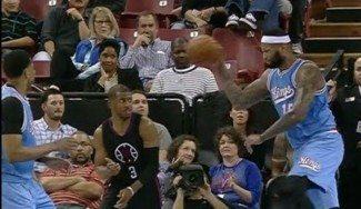 Vuelve el hombre del saco: Cousins pierde la cabeza y le lanza el balón a Chris Paul (Vídeo)