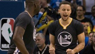 Los Warriors remontan el partido imposible: mira cómo decide Curry en OKC (Vídeo)