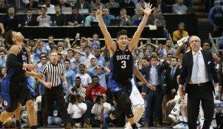 Partidazo. Duke toma Chapel Hill sin cambios en la segunda parte y con 4 freshmen (Vídeo)
