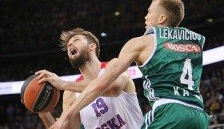 El nuevo Big Three del CSKA arrasa al Zalgiris: Freeland pide paso. ¡Mira qué 2+1! (Vídeo)