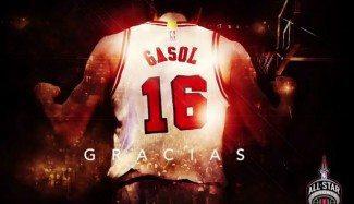 Pau Gasol rememora sus seis All-Star con un emotivo musical. «Gracias» (Vídeo)