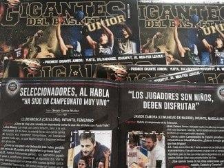 ¿Qué opinan los cuatro ganadores del oro en los Campeonatos de España? Descúbrelo en Gigantes Junior