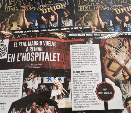 Gigantes del Basket. Noticias de Baloncesto