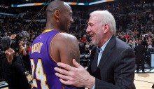 """Kobe se despide de San Antonio plantando cara. Popovich: """"Es cómo ver a Jordan"""" (Vídeo)"""