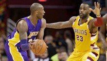 Así es Kobe: Cleveland le ovaciona y él se la lía a LeBron. Eso sí, ganan los Cavs (Vídeo)