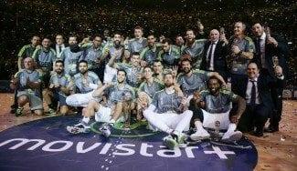 El Madrid suda ante el Granca para hacer historia: su tercera Copa seguida. Ayón, MVP