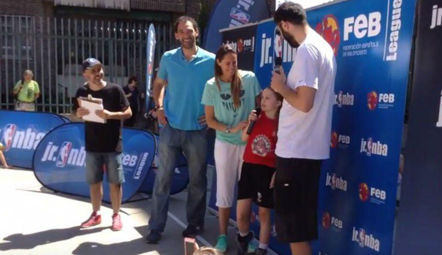 Un buen recuerdo: Así fue el 'Big Event' de la Liga JR. NBA-FEB 2015. ¡Vaya entrevistas! (Vídeo)