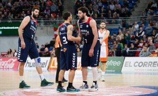 Bourousis dedica el MVP de enero al lesionado Shengelia: lleva nueve entre ACB y Euroliga