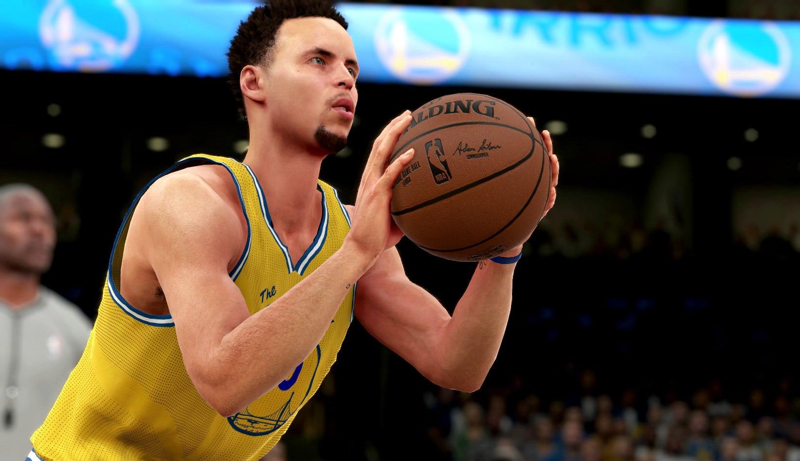 Curry, inimitable: los autores del videojuego NBA2K no saben cómo reproducir su estilo