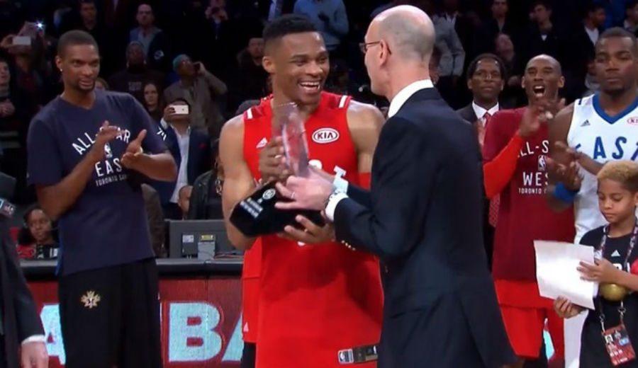 Westbrook le coge el gusto: segundo MVP seguido. Su partidazo, a cámara lenta (Vídeo)